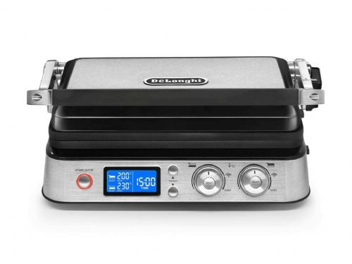 DeLonghi MultiGrill CGH1020D Electric Contact Barbecue Grill & Griddle